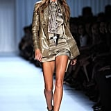 Gisele Bündchen on the Givenchy Runway at Paris Fashion Week Spring/Summer 2012