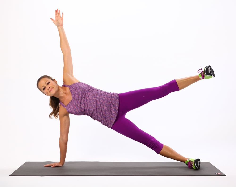 Side Plank With Leg Lift (Right Side)