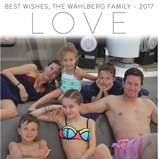 Mark Wahlberg Family Holiday Card 2017