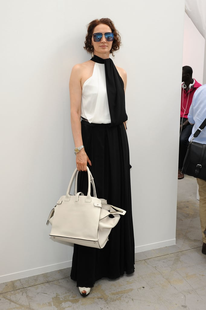 Dragana Capasa at the Costume National Homme Spring 2013 Show in Milan.