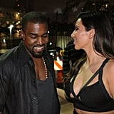 The duo were all smiles during a Miami date night in October 2012.