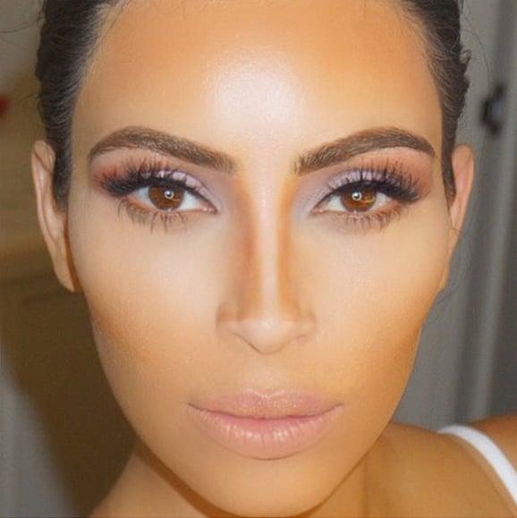 Kim Kardashian's Contouring Tricks   POPSUGAR Beauty