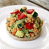 Lunch: Chickpea Avocado Salad