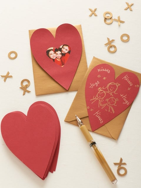 Heart Paper Card