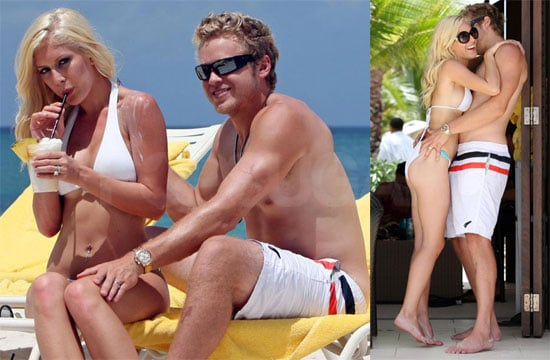 Bikini Photo of Heidi Montag With Shirtless Spencer Pratt in the Bahamas After Miss Universe, at LAX