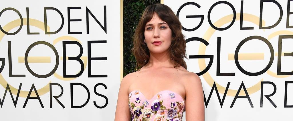 Lola Kirke Armpits at the Golden Globe Awards 2017