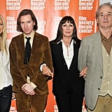 She reunited with her Royal Tenenbaums costars Anjelica Huston and Bill Murray and the film's director, Wes Anderson, at the 10th anniversary screening in NYC in October 2011.