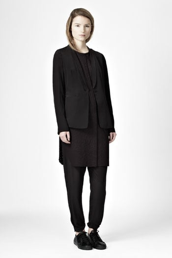 Slouchy blazer 99 tunic dress 59 and slim trousers for Abbigliamento minimal