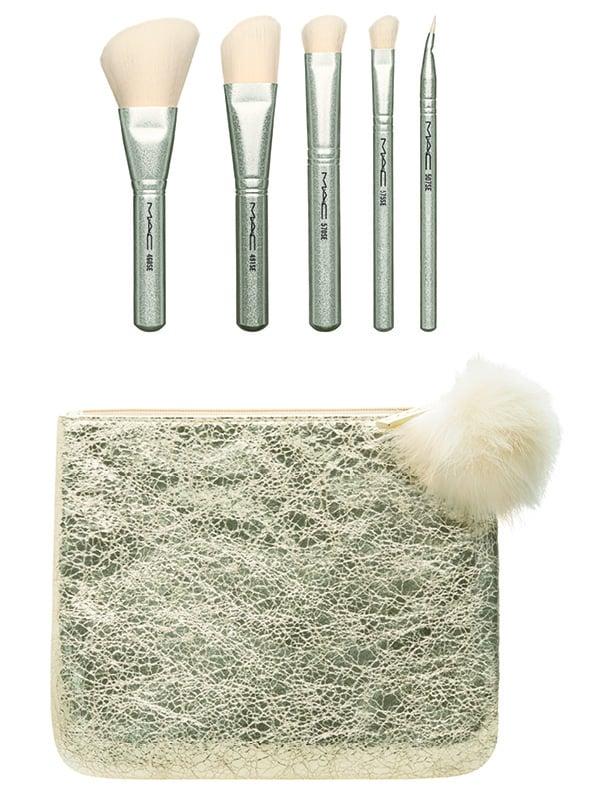 MAC Snow Ball Brush Kit in Gold