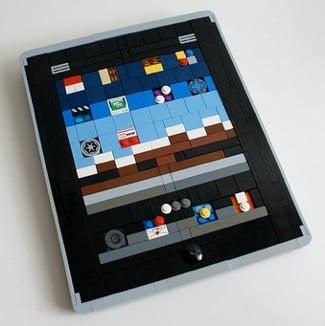 Photos of the Lego iPad