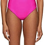 Fleur Du Mal Pink Scoop Neck Swimsuit