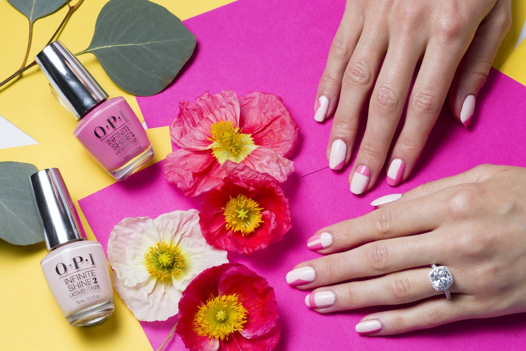 If you're a fashion-forward bride, go for the nail art