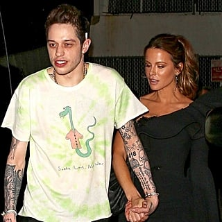 Kate Beckinsale and Pete Davidson Holding Hands March 2019