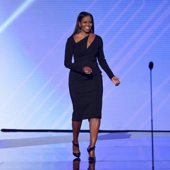 Michelle Obama Black Cushnie et Ochs Dress ESPY Awards 2017