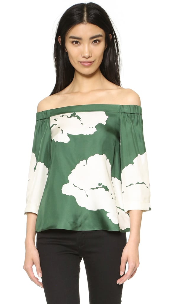 Tibi Off-the-Shoulder Top ($365)
