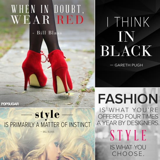 32 Famous Fashion Quotes Perfect For Your Pin Board