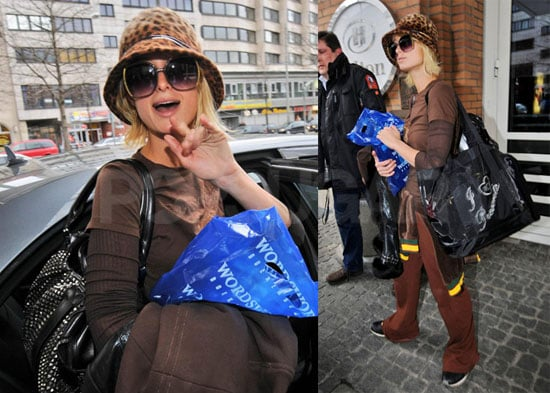 Paris Hilton Judges The Miss Turkey 2008 Beauty Pageant