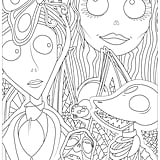 Corpse Bride Printable