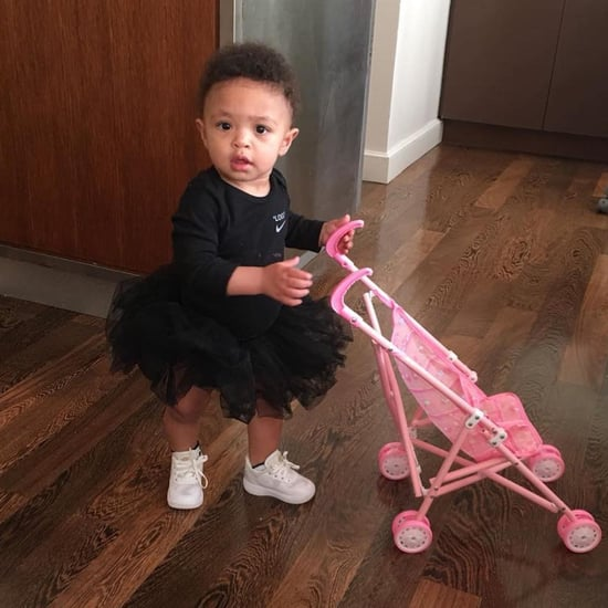 Serena Williams's Daughter Wears Matching US Open Outfit