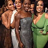 Pictured: Halle Berry, Tracee Ellis Ross, Lupita Nyong'o, and Niecy Nash