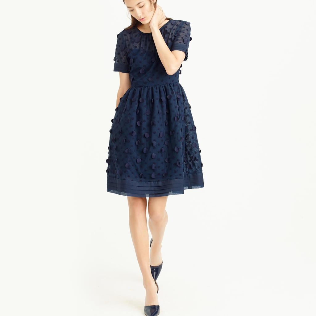 03f158d68e6 J.Crew Collection appliquéd dot dress ( 550)