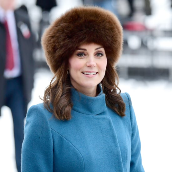 Kate Middleton Brown Furry Hat