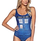 TARDIS Swimsuit ($75)