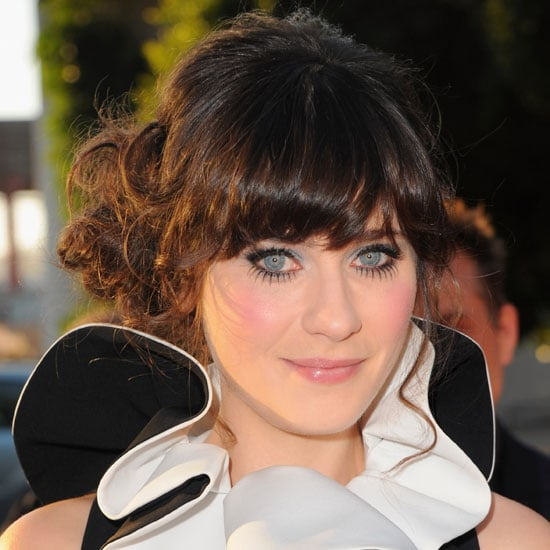 Zooey Deschanel's Doll Eyelashes at Our Idiot Brother Premiere