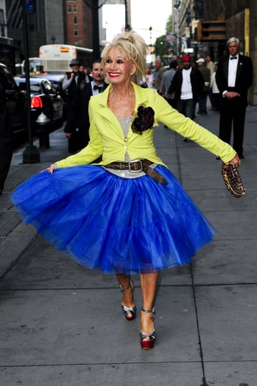 """Betsey Johnson Says She """"Will Never Retire,"""" After All"""