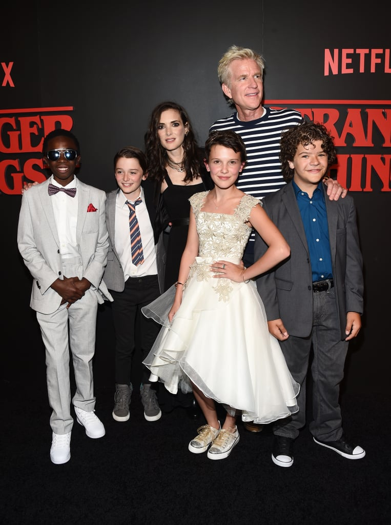 Stranger Things Cast at Season 1 Premiere