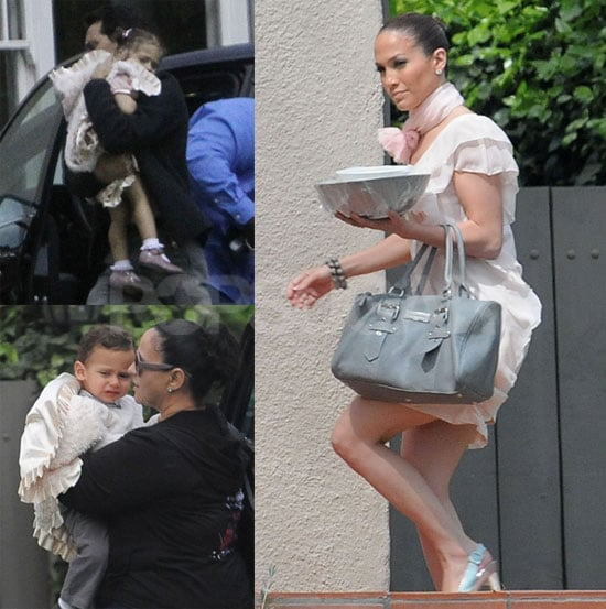 Photos of J Lo and Twins