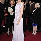 Cate Blanchett Returns to the Red Carpet in Eclectic Purple