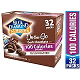 Blue Diamond Almonds, Oven Roasted Cocoa Dusted Almonds, 100 Calorie Packs