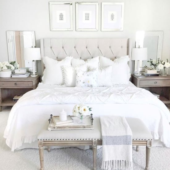Upholstered headboard diy inspired by casasugar popsugar for Bedroom design inspiration