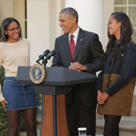 Sasha and Malia Obama Wearing American Apparel