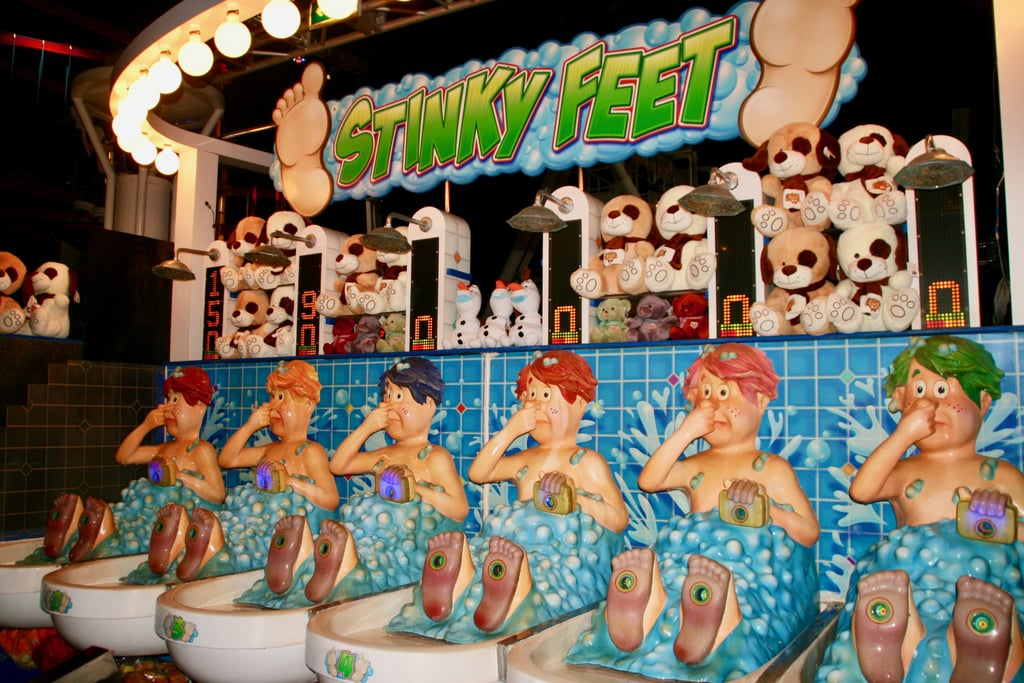 Anyone who says Dubai doesn't have culture clearly has never played the Stinky Feet water gun game at SEGA Republic.