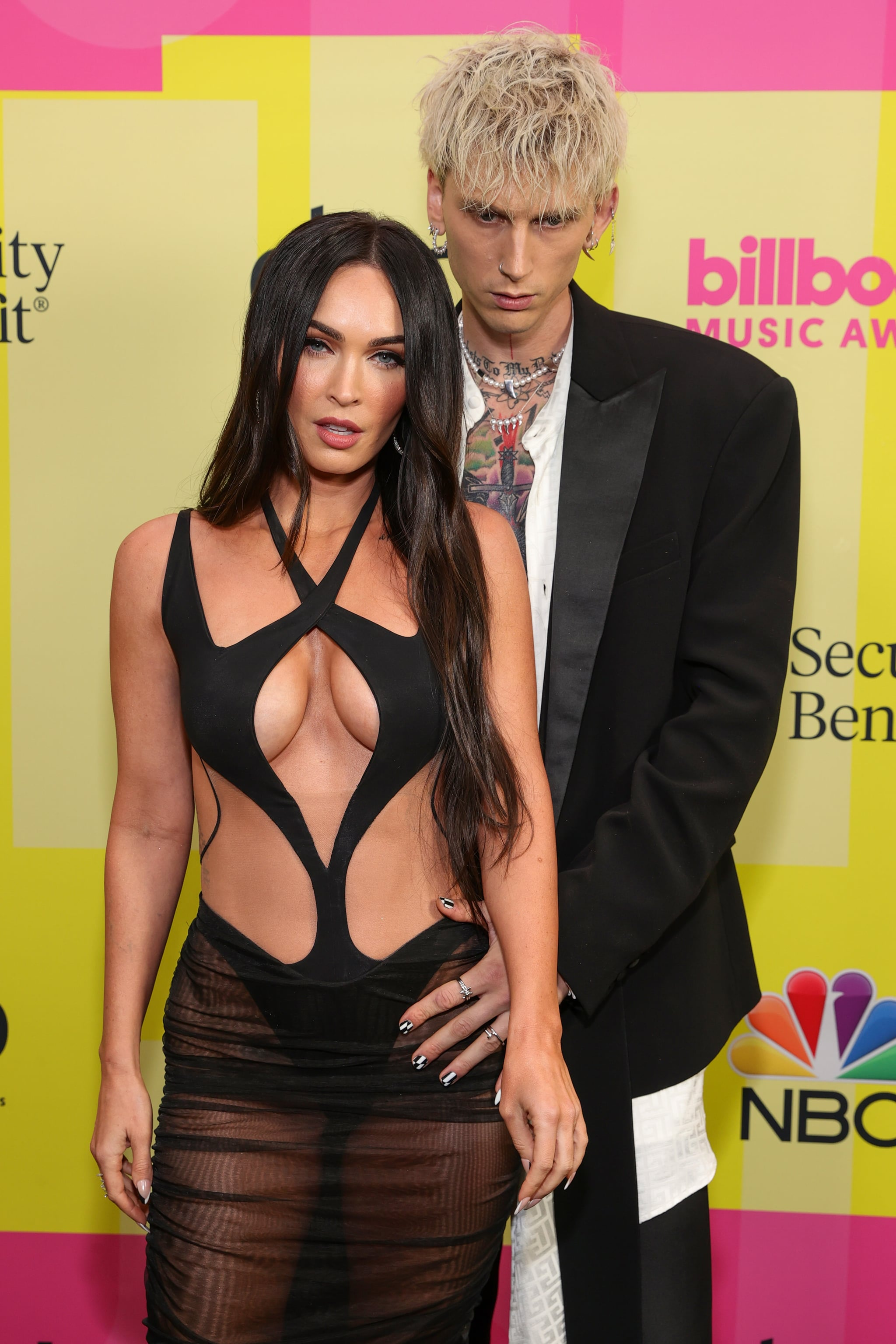 Kim Kardashian and Megan Fox's Sexy Cutout Mugler Dresses | POPSUGAR Fashion