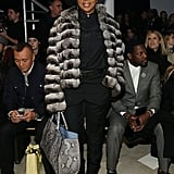 Mary J. Blige at NYFW