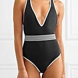 Diane von Furstenberg Belted Swimsuit