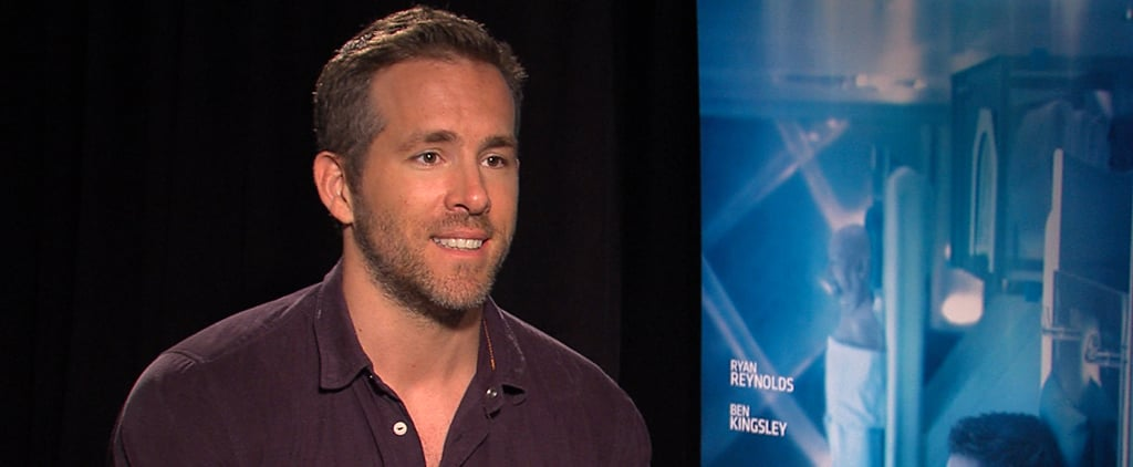 Ryan Reynolds Video Interview About Baby James