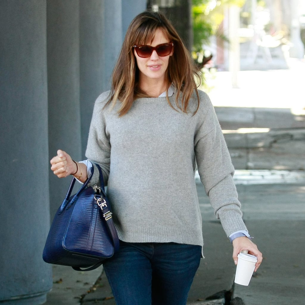 Jennifer Garner Grocery Shopping With Seraphina Affleck