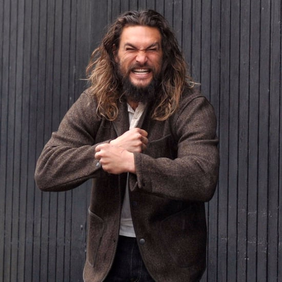 Jason Momoa at Guinness Brewery in Dublin February 2017