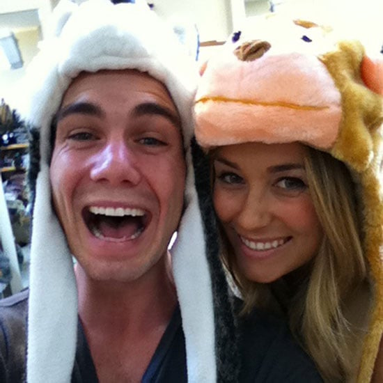 Lauren was in a furry mood. Source: Twitter user laurenconrad