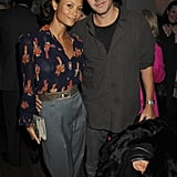 Thandie Newton and Ol Parker in London, 2010