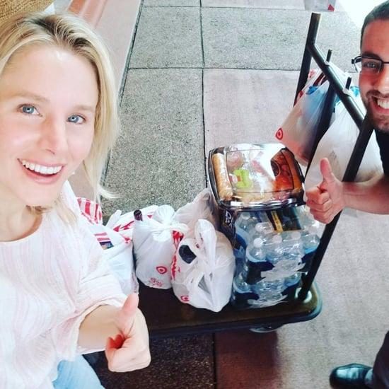 Kristen Bell Stuck in Orlando, FL, For Hurricane Irma
