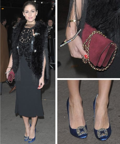Pictures of Olivia Palermo in Giorgio Armani, Topshop and Mulberry at the screening of W.E. at The MOMA in New York