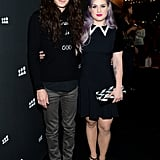 Kelly Osbourne and Matthew Mosshart stepped out for the Myspace event in LA.