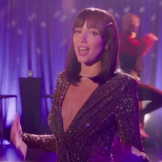 Dua Lipa's Sequin Dress on Late Late Show With James Cordon