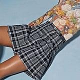 Anna Sui & UO Plaid Mini Skirt