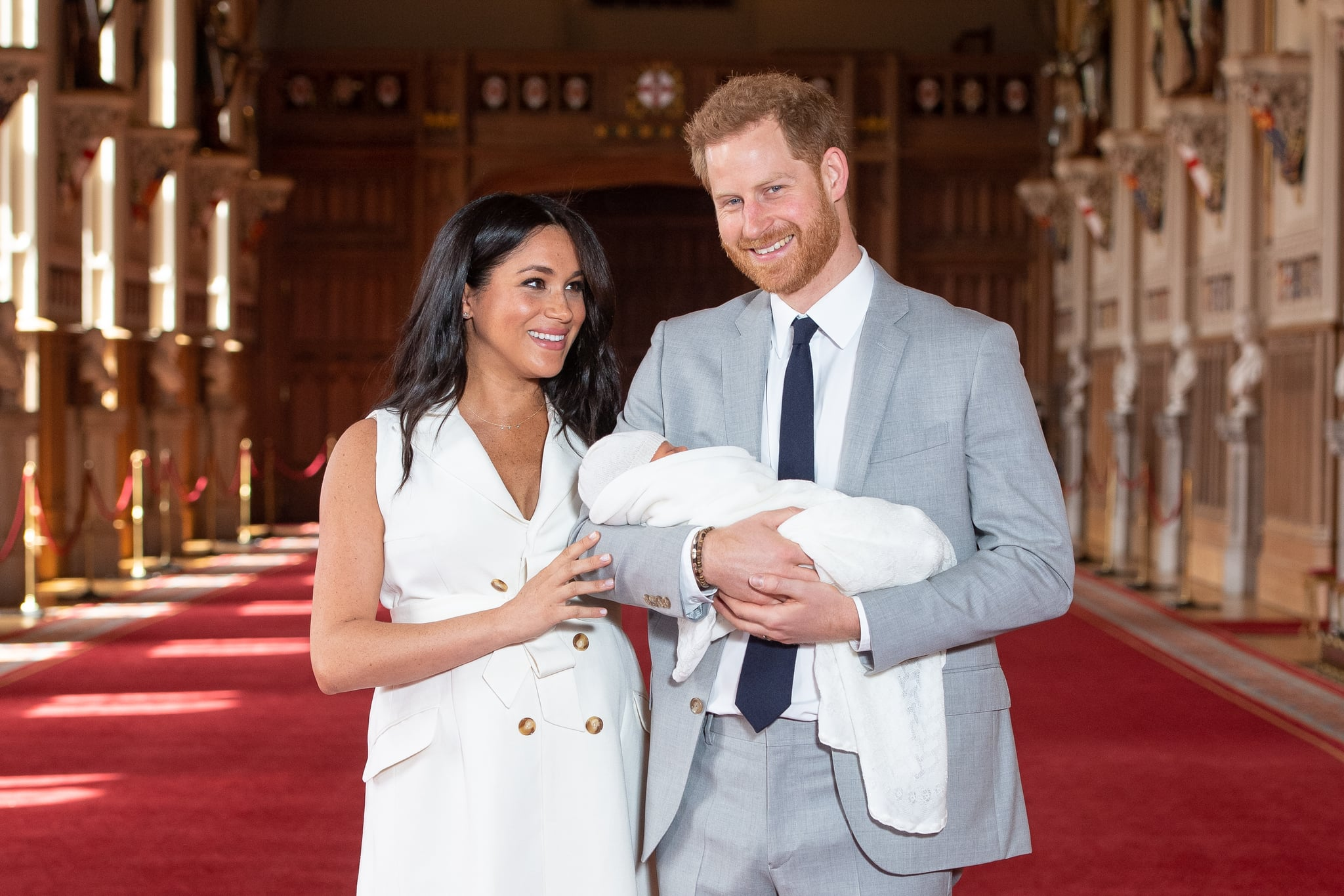 Why It Was So Damn Important That Prince Harry Was the One Holding Baby Sussex
